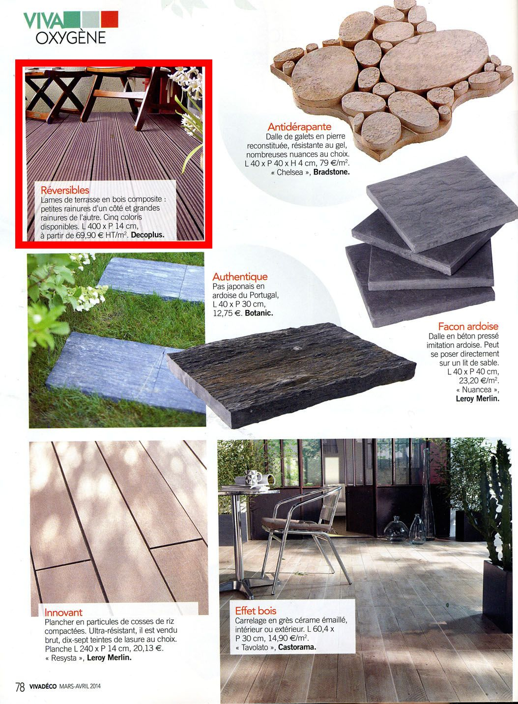 Balancelle Castorama Étonnant Decoplus In the Latest issue Of Viva Déco Magazine Press