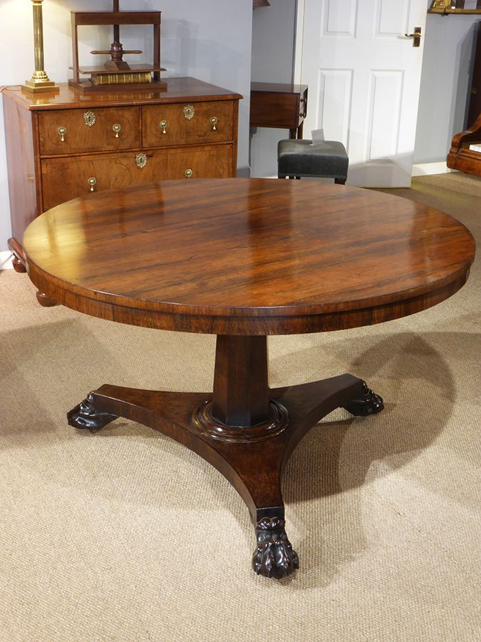 Console Longue Imposant Rosewood Centre Table