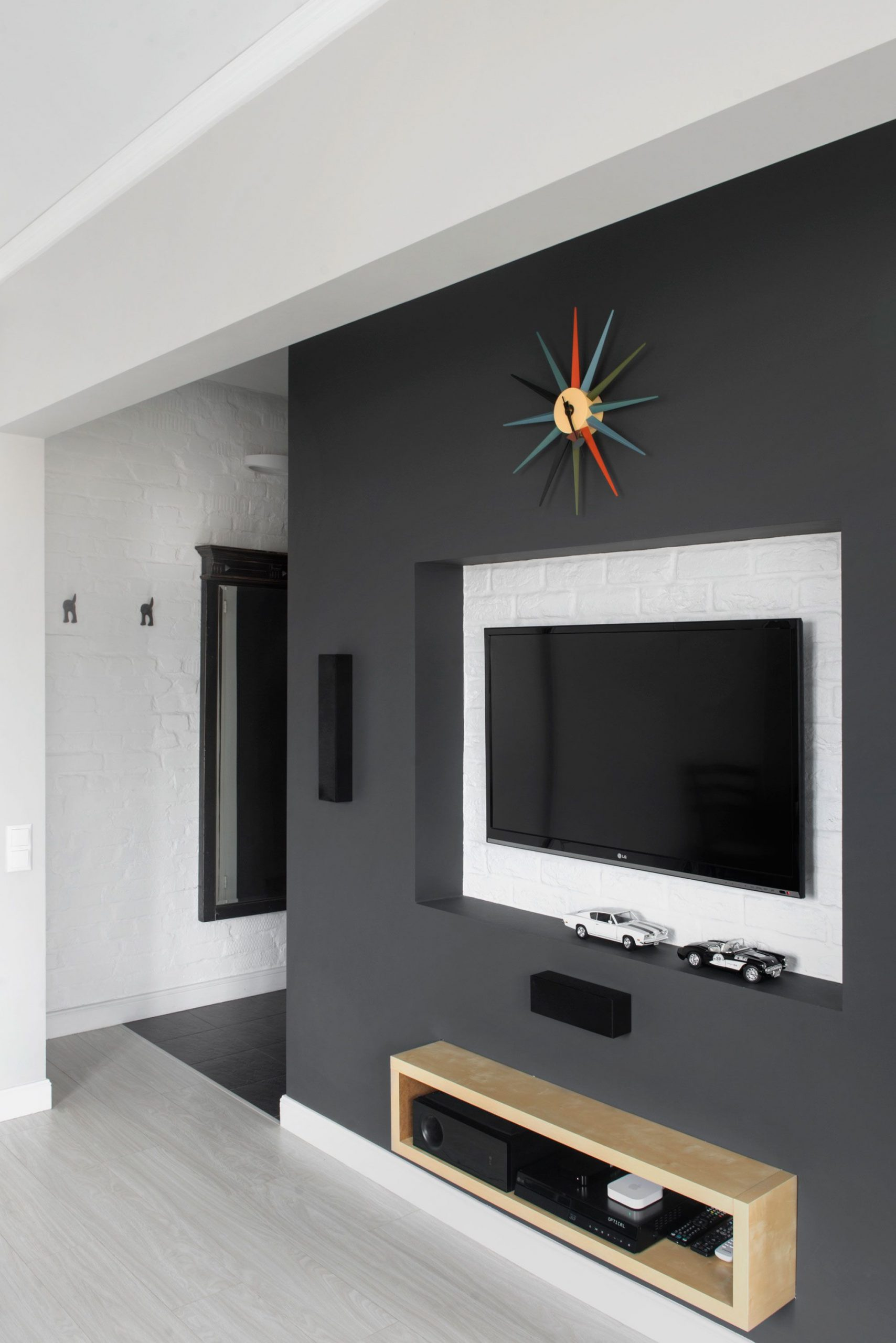 Console Murale Suspendue Imposant Apartment Designed by Maxim Tikhonov Home Interior Among