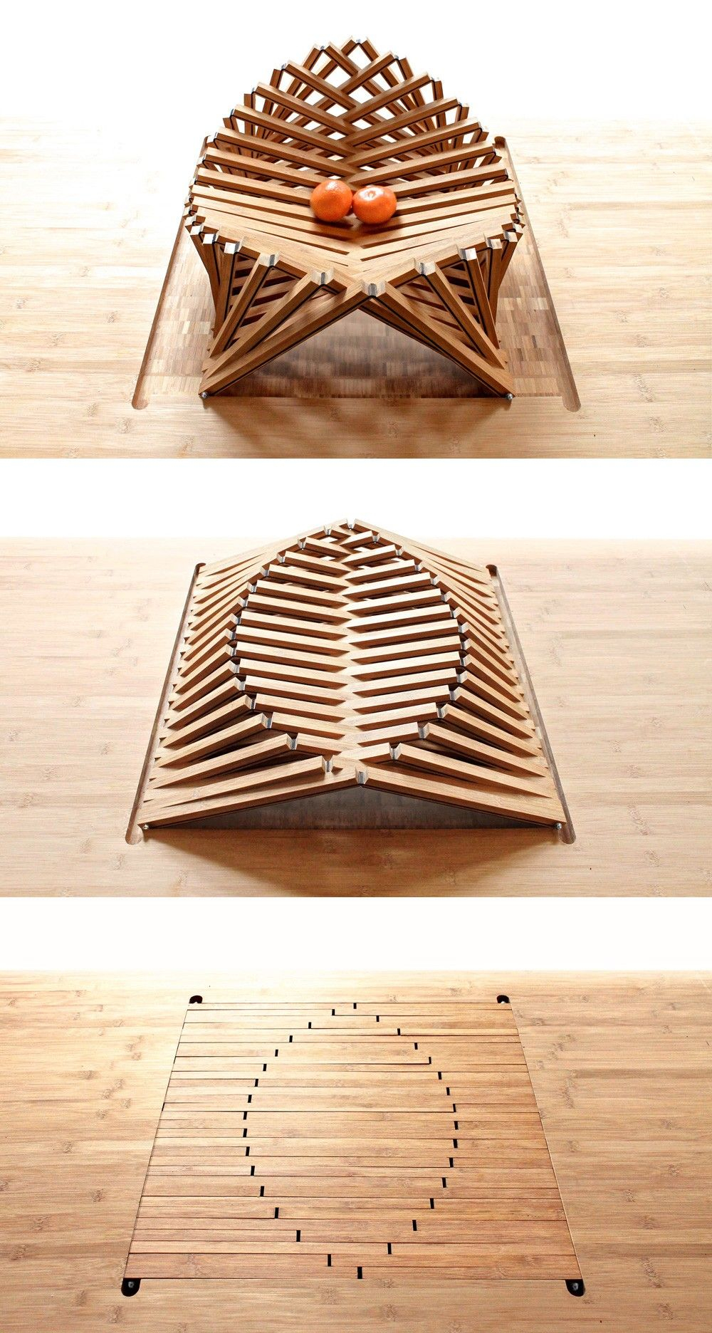 Dimension Table 8 Personnes Superbes Rising Shell Par Robert Van Embricqs